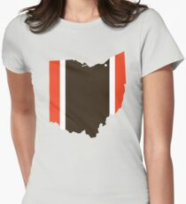 #GoBrowns Womens Fitted T-Shirt