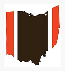 #GoBrowns Photographic Print