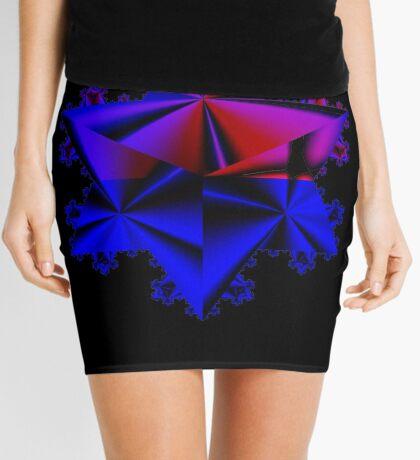Koch Curve V Mini Skirt
