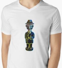 Dick Tracy Mens V-Neck T-Shirt