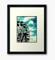 Big Wheel, Scarborough. Framed Print