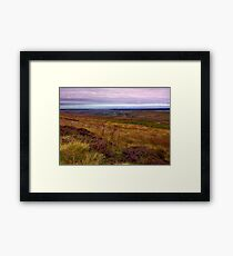 North Yorks Moors National Park Framed Print