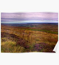 North Yorks Moors National Park Poster