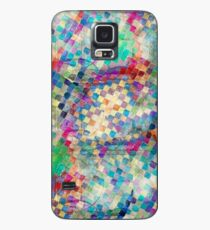 2nd skin - colourful abstract Case/Skin for Samsung Galaxy