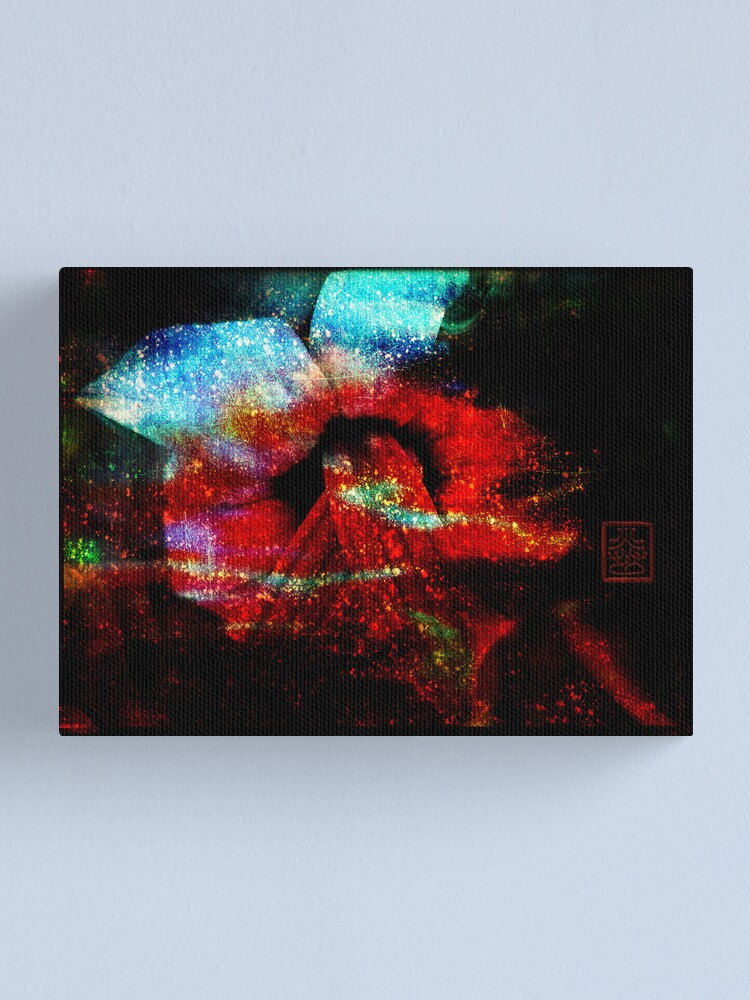 Alternate view of Plant Love - Abstract 3D Canvas Print