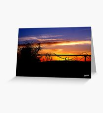 bald hill the marsh  Greeting Card