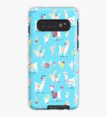 Alpaca Pattern Case/Skin for Samsung Galaxy