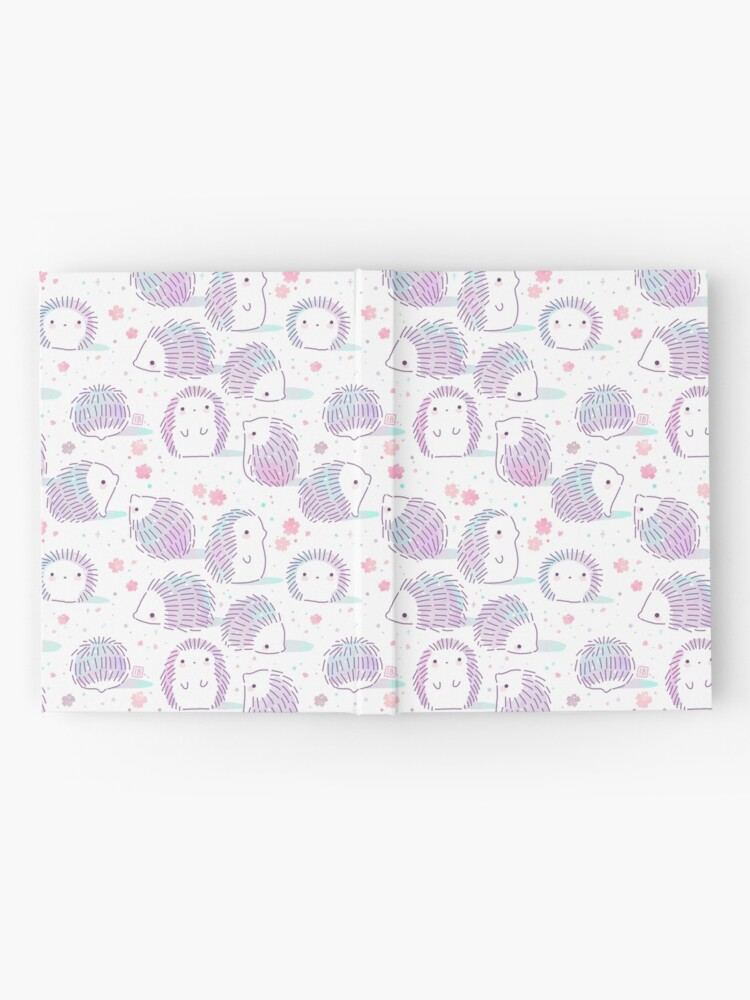 Alternate view of Spring Hedgehog Pattern Hardcover Journal