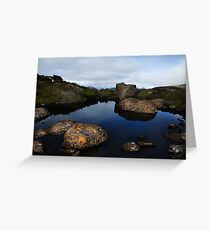 Tarn shelf Greeting Card
