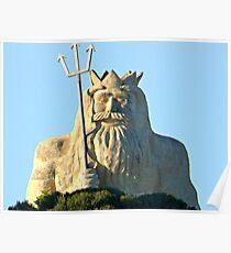 King Neptune    Two Rocks   Western Australia Poster