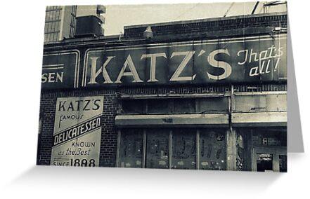 Famous Katz's Deli by ShellyKay