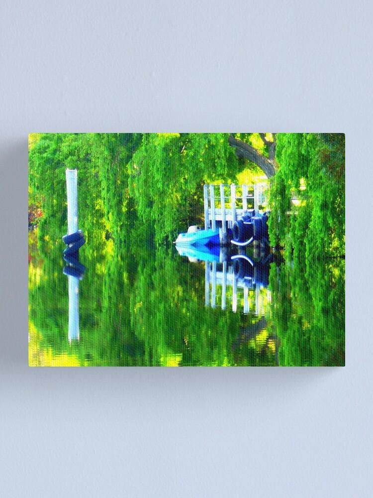 Alternate view of Boat Ramp  Yanchep National Park Canvas Print
