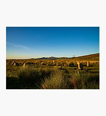 stone circle sunset Photographic Print