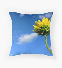 Growing Skyward Throw Pillow