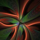 Fractal Warp Mode by Deborah  Benoit