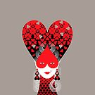 Queen of Hearts  by balbusso-twins