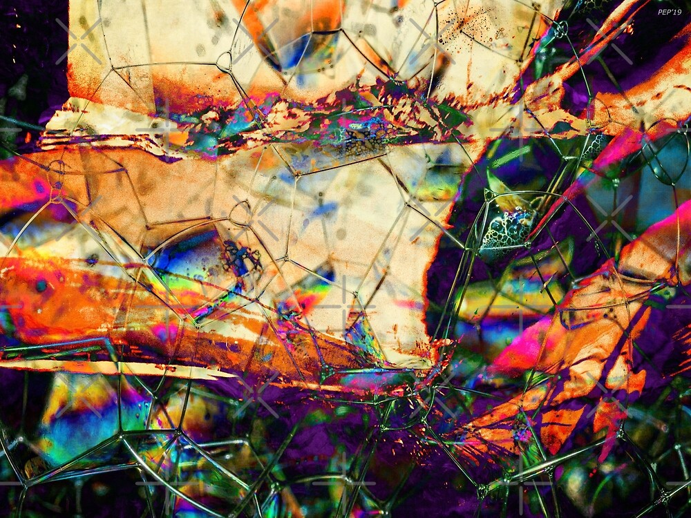Phosphorescent Abstract by Phil Perkins