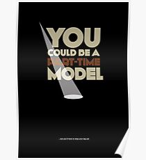 Part-time model   |   poster Poster