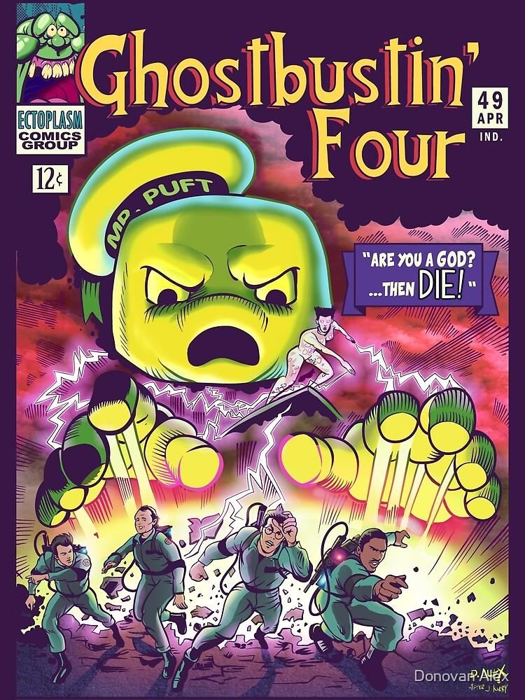 The Ghostbustin Four #49 by Donovan Alex