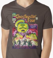 The Ghostbustin Four #49 Men's V-Neck T-Shirt