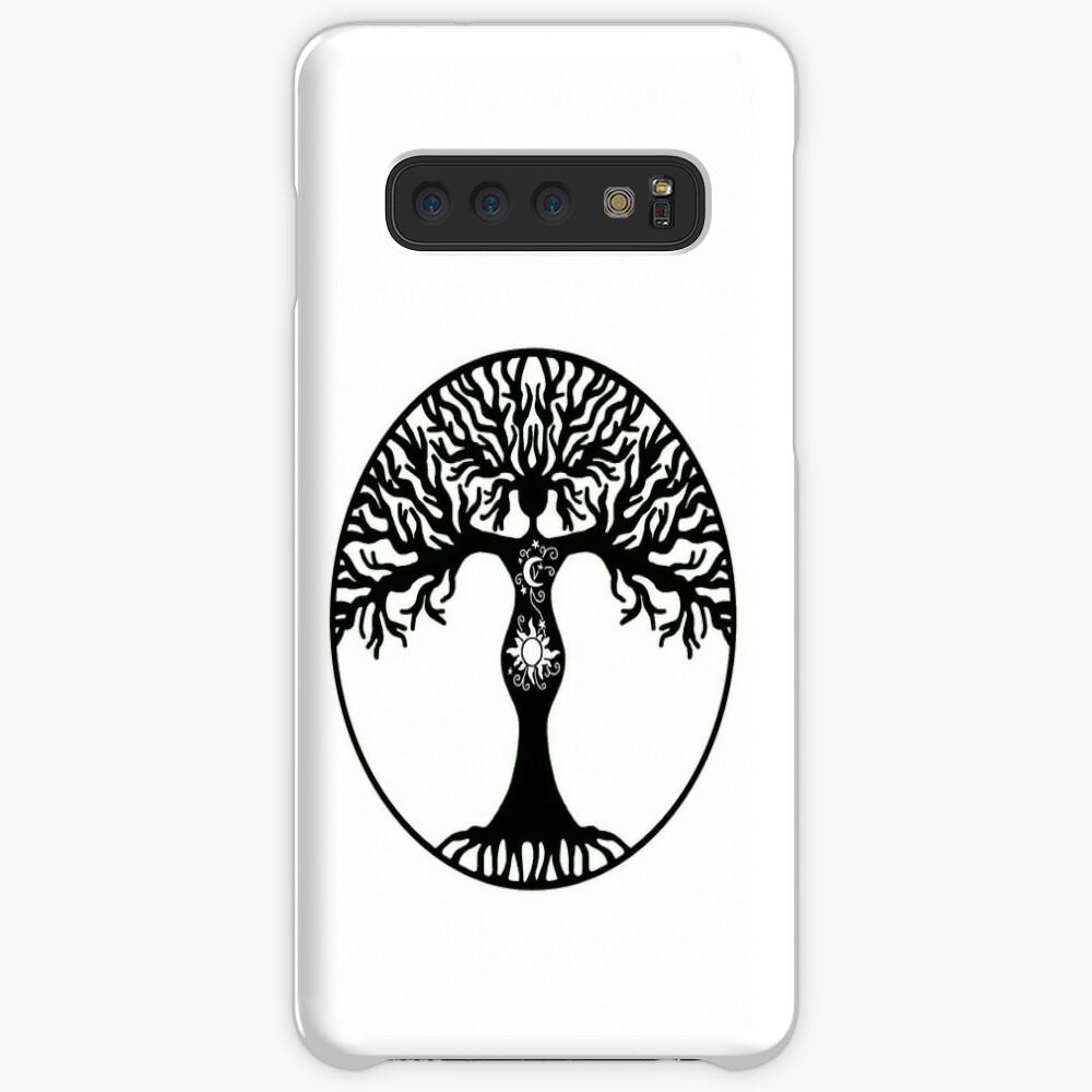 Pagan Goddess Tree Case & Skin for Samsung Galaxy