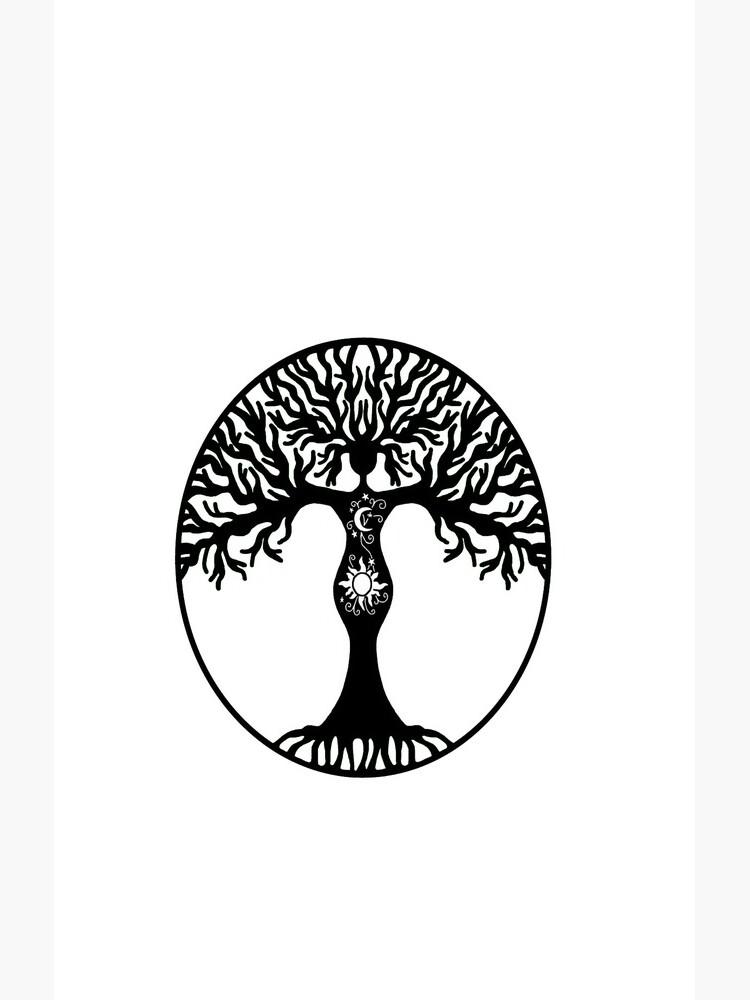 Pagan Goddess Tree by imphavok