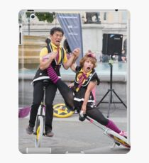 Witty Look perform in Trafalgar Square during the Buskin London Festival iPad Case/Skin
