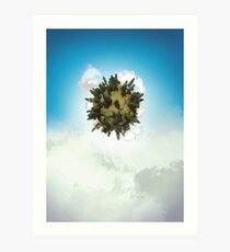 Tiny Planet Art Print