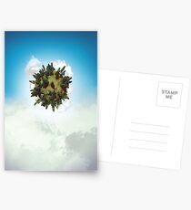 Tiny Planet Postcards