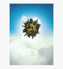 Tiny Planet Photographic Print