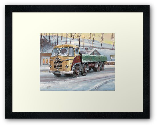 Foden S20 at the Jungle cafe by Mike Jeffries