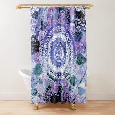 Hyacinth Mandala Shower Curtain