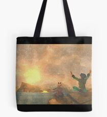 Yoga face to the Sun - 瑜伽面对太阳 Tote Bag