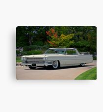 1963 Cadillac Coupe DeVille Canvas Print