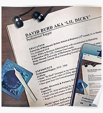Lil Dicky - Professional Rapper Poster