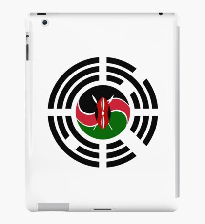 Kenyan Korean Multinational Patriot Flag Series iPad Case/Skin