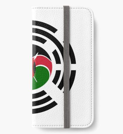 Kenyan Korean Multinational Patriot Flag Series iPhone Wallet