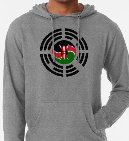 Kenyan Korean Multinational Patriot Flag Series Lightweight Hoodie
