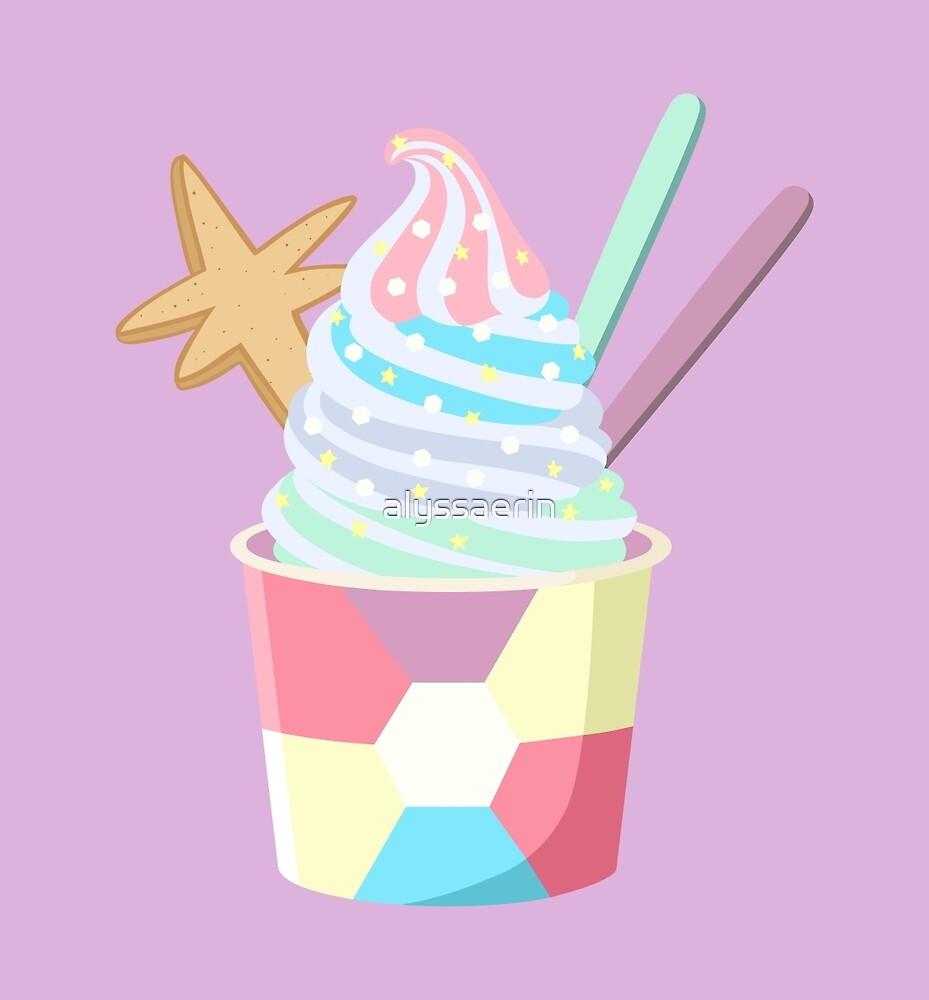 Universe Ice Cream - Opal by alyssaerin