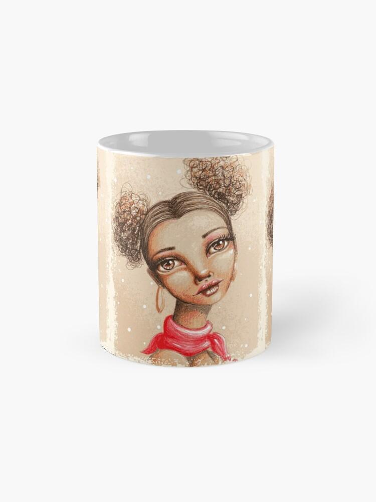 Alternate view of Curly Buns Mug