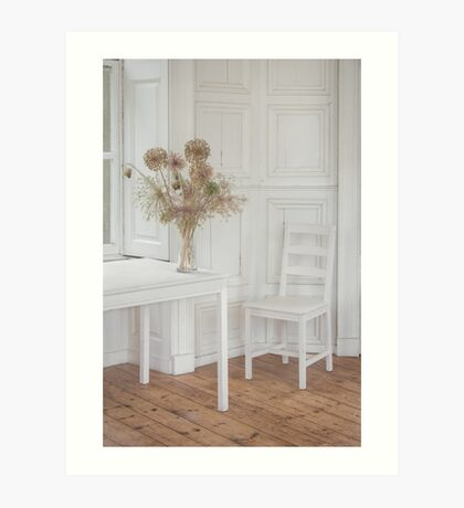 The White Room Art Print