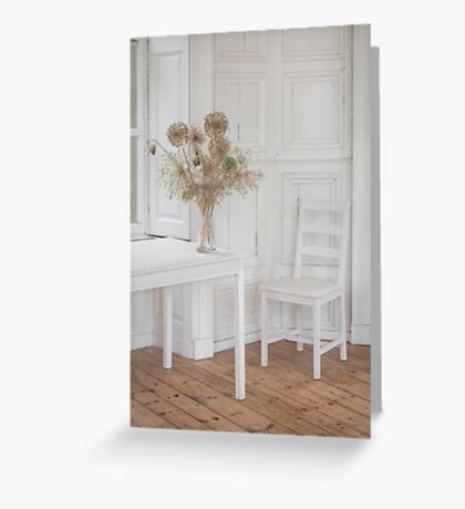 The White Room Greeting Card