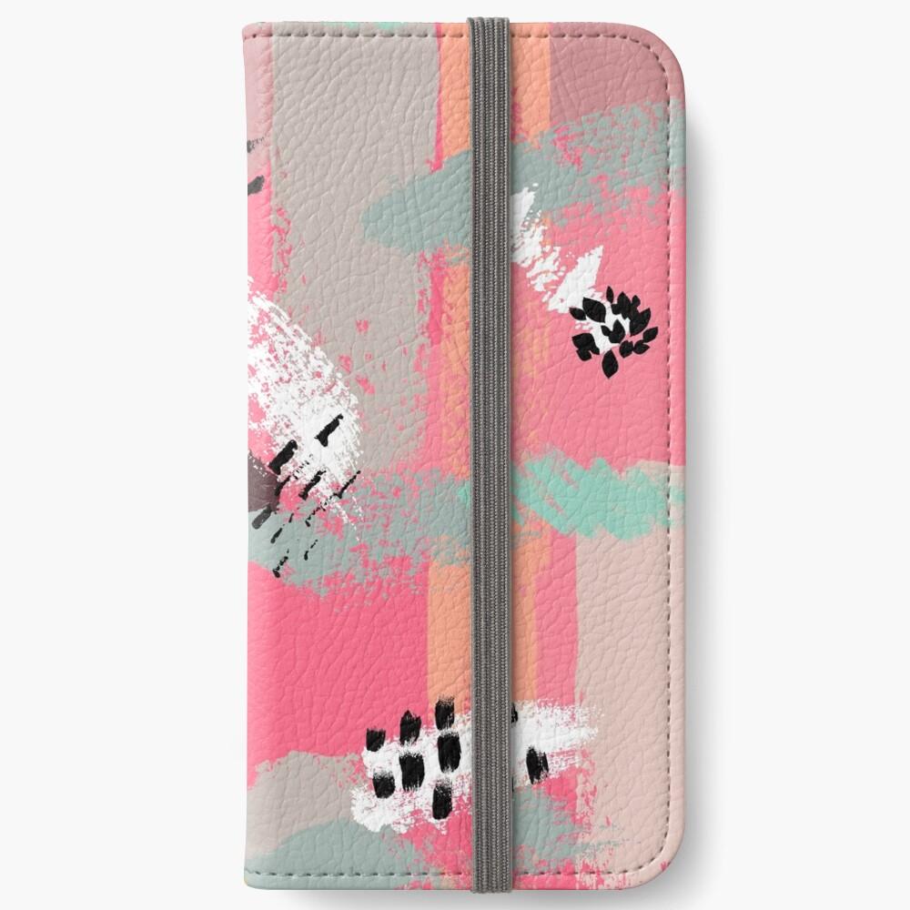 Modern Art iPhone Wallet