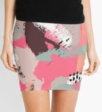 Modern Art Mini Skirt