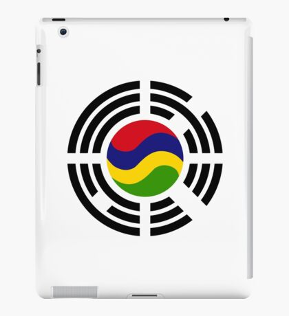 Mauritian Korean Multinational Patriot Flag Series iPad Case/Skin