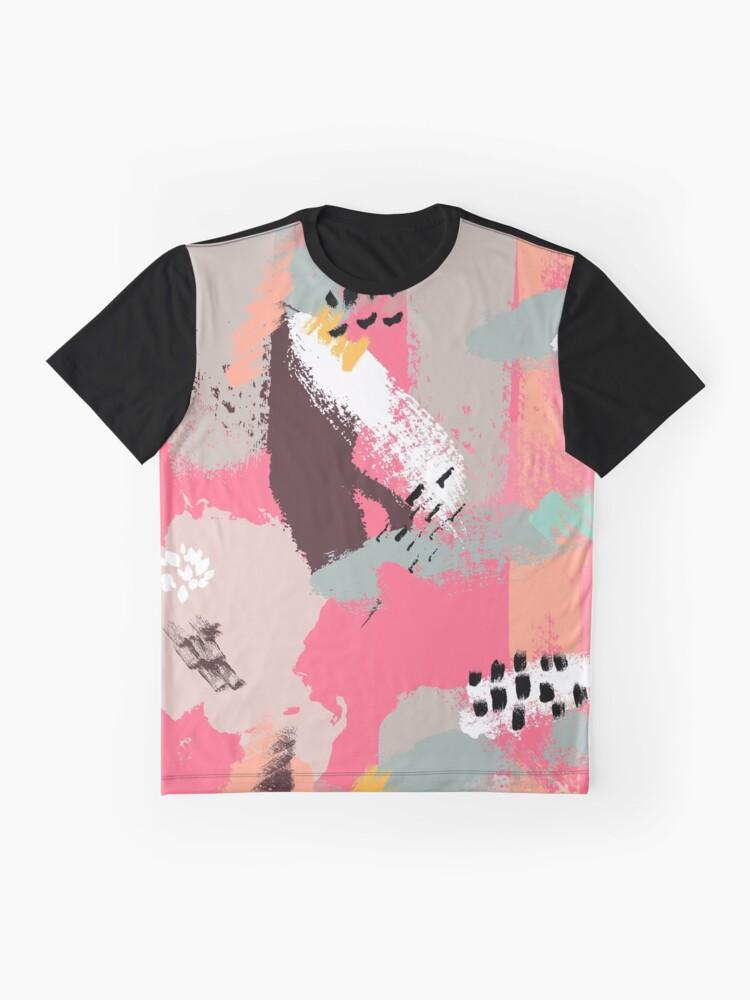 Alternate view of Modern Art Graphic T-Shirt