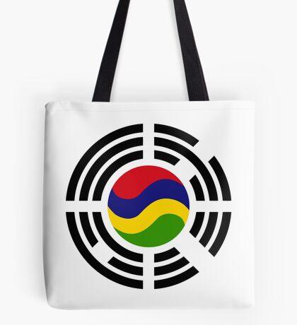 Mauritian Korean Multinational Patriot Flag Series Tote Bag