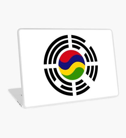 Mauritian Korean Multinational Patriot Flag Series Laptop Skin