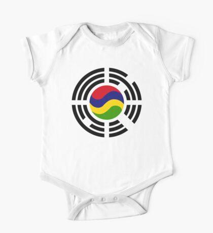 Mauritian Korean Multinational Patriot Flag Series Kids Clothes