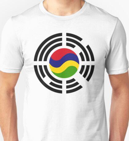 Mauritian Korean Multinational Patriot Flag Series T-Shirt